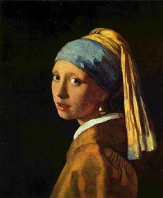 """La joven de la perla"" de Jan Vermeer"