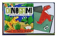 Dinogami Make Minigami Models with 20 Scaly Papers and a Howto Book -- AMAZON Great Sale