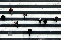 Crossing of the humans