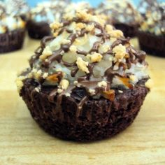 Almond Joy* Brownie Bites - A little work but nothing too intensive, and they sound oh-so-worth it!