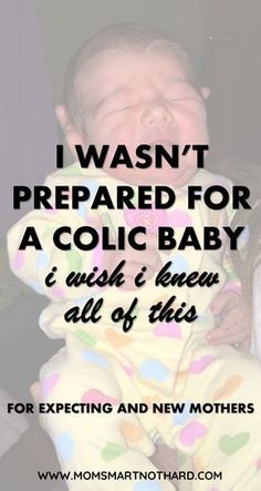 Tips to survive a colic baby and address the underlying issues. Everything I wish I knew before having a colic crying baby. Colic baby remedies and crying baby tips. via @momsmartnothard