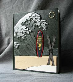 Tedra K. Ashley at fineblankbooks.com makes these awesome personalized books