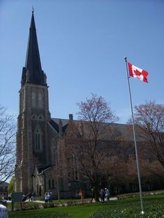 Church in Queens Square Cambridge, Ontario