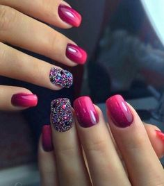 Hello lovelies,Today we bring to you 'Best Nail Art Styles you can Copy'. These Nail art styles are Cute Nails, Pretty Nails, Hair And Nails, My Nails, Best Nails, Nagellack Design, Gel Nagel Design, Manicure Y Pedicure, Dipped Nails