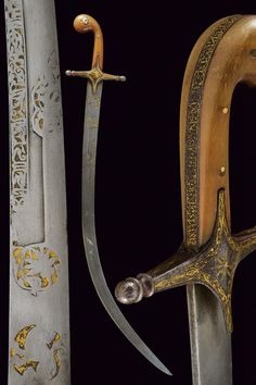 Buy online, view images and see past prices for A rare shamshir. Invaluable is the world's largest marketplace for art, antiques, and collectibles. Swords And Daggers, Knives And Swords, Curved Swords, Old Warrior, Indian Sword, Islamic Art Pattern, Blacksmith Shop, Islamic Art Calligraphy, Cold Steel