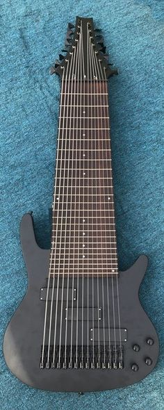 15 string Bass (now I like a fat neck as much as the next person but...) --- https://www.pinterest.com/lardyfatboy/