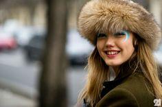 fashion style casaco pêlo