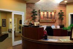 Chiropractic office design, Chiropractic furniture, Davlen