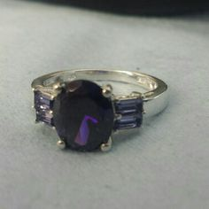 Spotted while shopping on Poshmark: Beautiful,  Purple Simulated Diamond ring. New! #poshmark #fashion #shopping #style #Jewelry