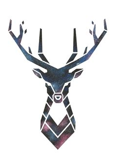 abstract deer http://fav.me/d7xee5y