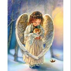 Baby Angel Wings, Angel Babies, Diamond Picture, Angel Images, Cross Stitch Pictures, Paint By Number Kits, Square Canvas, 5d Diamond Painting, Easy Paintings