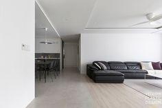 북가좌동DMC래미안 46평 아파트 인테리어_커다란 슬라이딩 문이 있는 주방 [옐로플라스틱, 옐로우플라스틱, yellowplastic] : 네이버 블로그