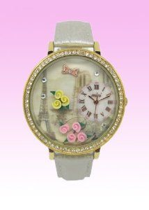 Buy Mini Korea style Princess Women's Teen Girl kids White Leather Watch bands waterproof wonderful GIFT Special offers - http://greatcompareshop.com/buy-mini-korea-style-princess-womens-teen-girl-kids-white-leather-watch-bands-waterproof-wonderful-gift-special-offers