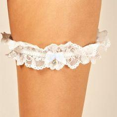 Reger by Janet Reger Designer ivory bridal lace garter- at Debenhams.com