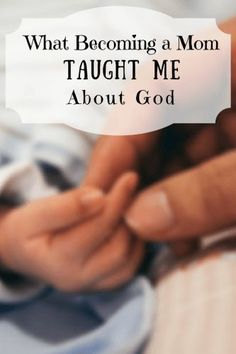 God uses different moments of our life to reveal himself to us. After having a baby there are so many parallels between being a parent and God's love for us.