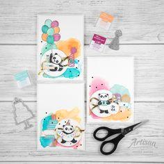 stampin up _ party pandas _ produktpaket grund zum feiern _ aqua painter- aquarell hintergrund _ 1
