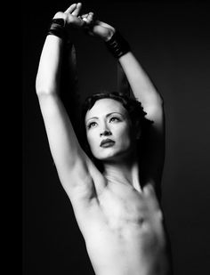 Breast cancer photography. They are brave!
