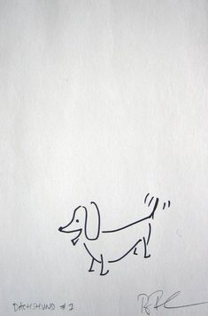 Doxie sketch. $6                                                                                                                                                                                 Mais