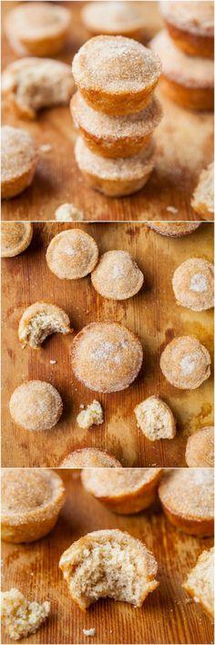 Fluffy Vegan Coconut Oil Banana Muffins #banan #muffins #vegan
