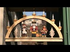 Seiffen - Christmas Village video ... located in the Erzgebirge mountain region of eastern Germany ... the area is especially renowned in Germany for its traditional wood crafts, carving and woodworking.