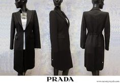 Prada Cappotto black coat Prince Frederick, Queen Margrethe Ii, Danish Royal Family, Danish Royals, Crown Princess Mary, Mary Elizabeth, Denmark, Prada, High Neck Dress