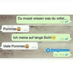 Lustige WhatsApp Bilder und Chat Fails 45 - Pommes