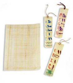 Egyptian Explorers Hieroglyphics Craft Kit (makes 25 proj...