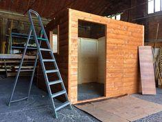Realizzazione di casette in legno su misura! #workinprogess