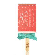 Zoella Beauty Soap Pop Fragranced Soap on a Stick 100g - feelunique.com