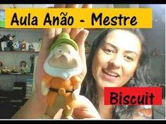 """DIY - 7 Anões """"Feliz"""" Biscuit - Raquel Fontinele - YouTube"""