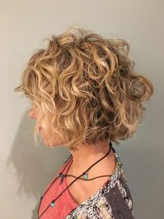 Curly Bob Beach Blonde Hair Blonde Curly Hair Short Blonde with regard to sizing 768 X 1024 Curly Blonde Bob Hairstyles - Bob hairstyle is the most Blonde Curly Bob, Blonde Bob Haircut, Short Curly Hair, Curly Hair Styles, Curly Lob, Wavy Hair, Angled Bob Hairstyles, Blonde Bob Hairstyles, Chic Hairstyles