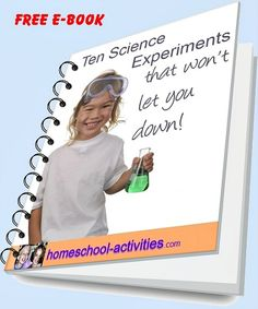 Free e-book showing you the top ten #science #experiments - that won't let you down!  Tried and tested by one of the very few second generation homeschooling families taught at home myself www.homeschool-activities.com/kids-science-experiments.html