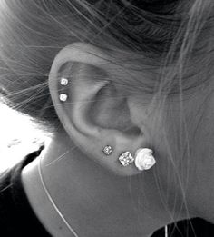 I want all of them. piercing