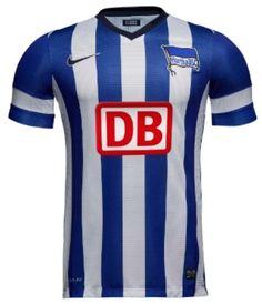 Hertha BSC Home Jerseys 2013-14 Nike Soccer Uniforms 7fa685f52