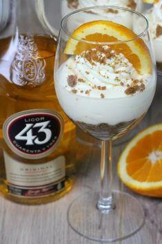 Orange Licor 43 tiramisu - The Sweet tooth- Orange Recipes Baking, Easy Cake Recipes, Gourmet Recipes, Baking Recipes, Dessert Recipes, Dessert Buffet, Pie Dessert, Bbq Desserts, Delicious Desserts