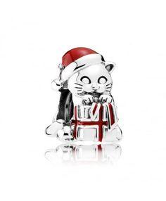 Pandora Christmas Kitten Charm 792007EN39 Buy Online