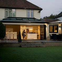 Home Improvements Gallery, Godstone, Surrey, Windows & Doors Extension Designs, House Extension Design, Extension Ideas, Kitchen Extensions, House Extensions, Kitchen Diner Extension, Conservatory Ideas, Roof Lantern, Door Price