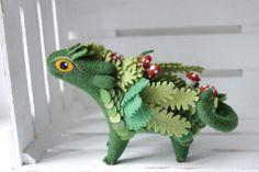 Felt Dragons By Russian Artist Alena Bobrova