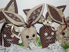 ivinoe / Zajačiky kapsáčiky - hnedé