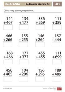 Matematyka - klasa - 3 - Matematyczna Wyspa - Medianauka.pl Math Equations, Google, Cuba