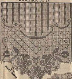 Filet Crochet Charts, Crochet Diagram, Crochet Motif, Crochet Designs, Crochet Doilies, Crochet Stitches, Crochet Flor, Doily Patterns, Crochet Patterns