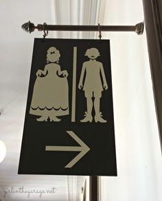 Cute Bathroom Signs IMG 3146 1 Versailles Bathroom Sign 825x1024