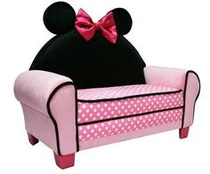 Walmart: Disney Minnie Mouse Sofa from Walmart. Shop more products from Walmart on Wanelo. Disney Furniture, Baby Furniture, Geek Furniture, Toddler Sofa, Salas Lounge, Minnie Mouse, Pink Minnie, Disney Home, Little Girl Rooms