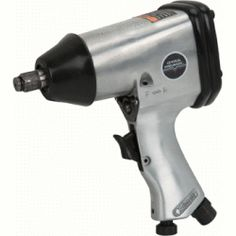 "1/2"" Air Impact Wrench  Here's a rugged pneumatic impact wrench with plenty of power to spin off wheel lugs, U-bolts, and transmissions. ;"