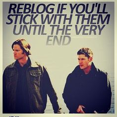 Supernatural Dean and Sam Winchester