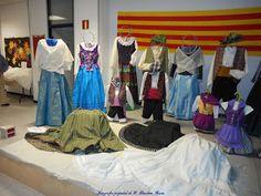 Kalasiris P.B. Costura: Exposición indumentaria aragonesa Cariñena 2016.