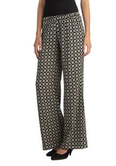 Pattern It Around Pants in Squares, #ModCloth