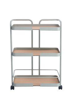 Trolley - DESIGNBITE Folding Furniture, Steel Furniture, Table Furniture, Furniture Design, Kitchen Bar Design, Kitchen Island Bar, Kitchen Sink Accessories, Interior Accessories, Bookcase Storage