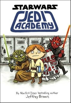 I love this book! I recommend it to all SW fans!!!!  Jedi Academy (Star Wars Graphic Novel) Jeffrey Brown, http://www.amazon.co.jp/dp/1407138707/ref=cm_sw_r_pi_dp_77ilsb1KQJ7JY