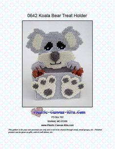 KOALA BEAR TREAT HOLDER 1